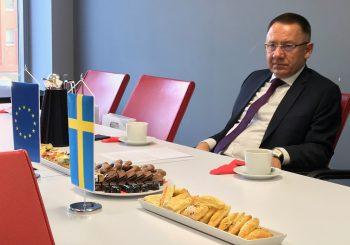 Śniadanie z Konsulem Szwecji.